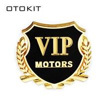 Logo 3D VIP moteurs voiture   Autocollant demblème de voiture, en métal, pour porte fenêtre, carrosserie automobile, décoration de voiture, diy, 2 pièces/lot