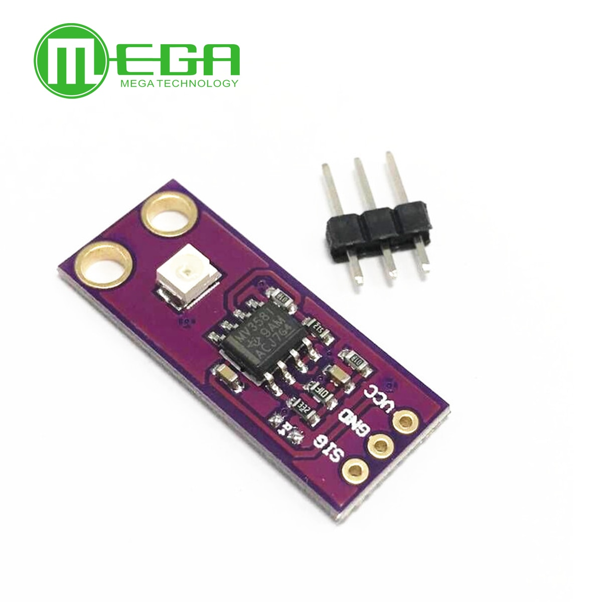 10 stücke GUVA-S12SD UV Erkennung Sensor Modul S12SD Licht Sensor Diy Kit Elektronische PCB Board Modul 240nm-370nm Für Arduino