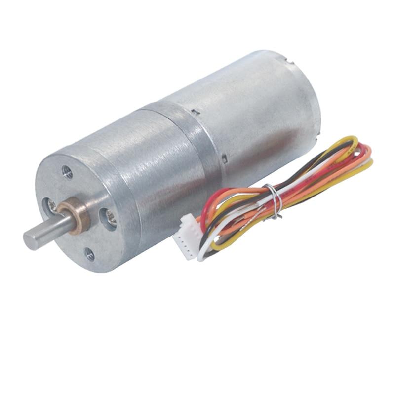 JGA25-2430 DC Brushless Motor 12V 24V Gear Electric Motor 14-1550rpm with Brake Speed Control BLDC Motor Long Lifetime