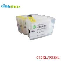 einkshop For HP 932 933 932xl 933xl Empty Refillable Ink Cartridge  for HP Officejet Pro 6100 6600 6700 7110 7610 7612 printer