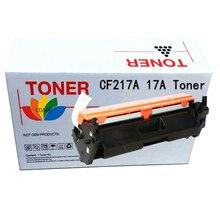 Cartouche de toner compatible CF217A 17a pour imprimante HP LJet Pro M102a M102w MFP M130A M130fn M130fw M103nw cf217a 217a sans puce