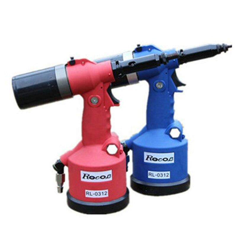 RL-0312 عالية الجودة التلقائي برشام الجوز rivettatrice الهوائية الهيدروليكية سحب برشام الجوز بندقية التلقائي الهوائية أداة 1 قطعة