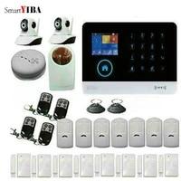 SmartYIBA systeme dalarme securite domestique   Portable  Auto-numeroteur  systeme dalarme domestique bricolage  camera de securite WIFI sans fil IP