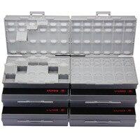 AideTek tool box Box Organizer Craft Beads Storageenclosure SMD SMT organizer surface plastic storage box organizer 6BOXALL48