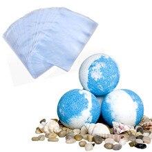 Bevigac Film cadeau PVC thermorétractable   200 pièces, sac cadeau pour bombes de bain, savons faits main, fabrication artisanat, emballage emballage
