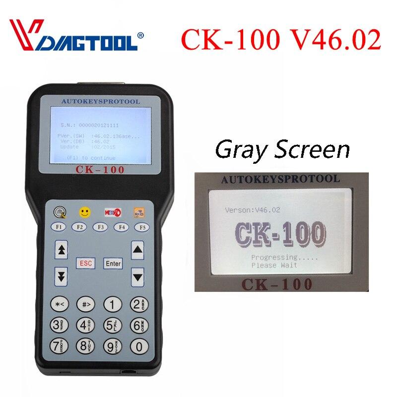 2020 CK100 V46.02/V99.99 CK100 Programador automático de llave con 1024 fichas CK100 programador clave CK 100 programador SBB Versión de Actualización
