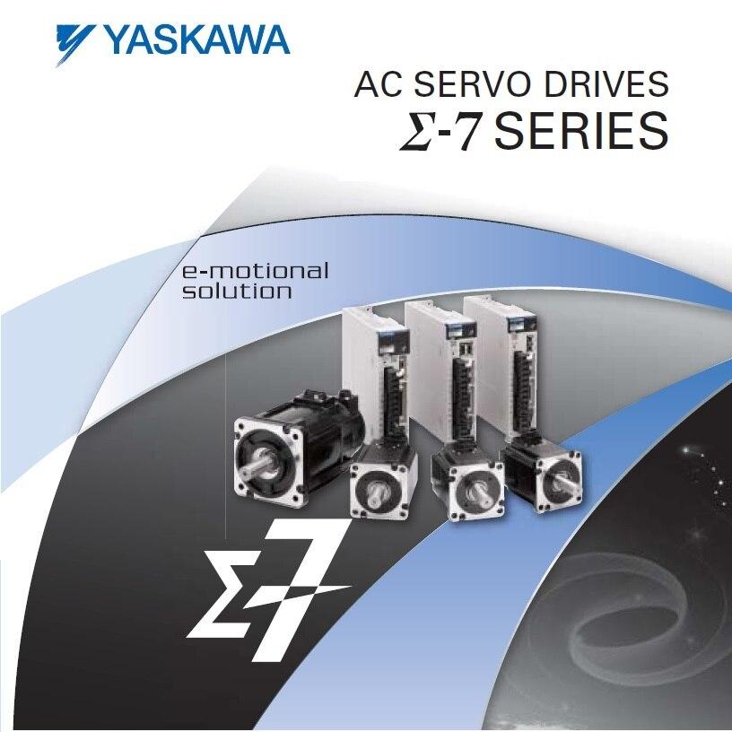 Novo e original Yaskawa série servo motor com 200W unidade SGM7J-02AFC6S SGM7J + SGD7S-1R6A00A