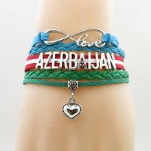 Handgemachte aserbaidschan männer und frauen Armband trendy klassische aserbaidschan armreifen für Frau und mann schmuck