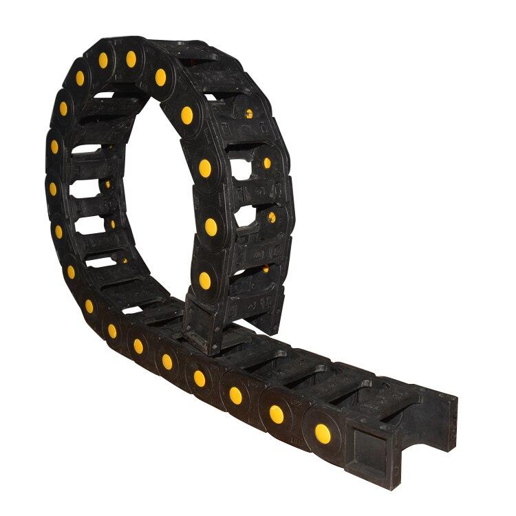 Tipo de ponte pode abrir 25mm x 103 milímetros arraste cadeia de plástico com conectores terminais comprimento 1000 milímetros máquina de gravura cabo para router CNC