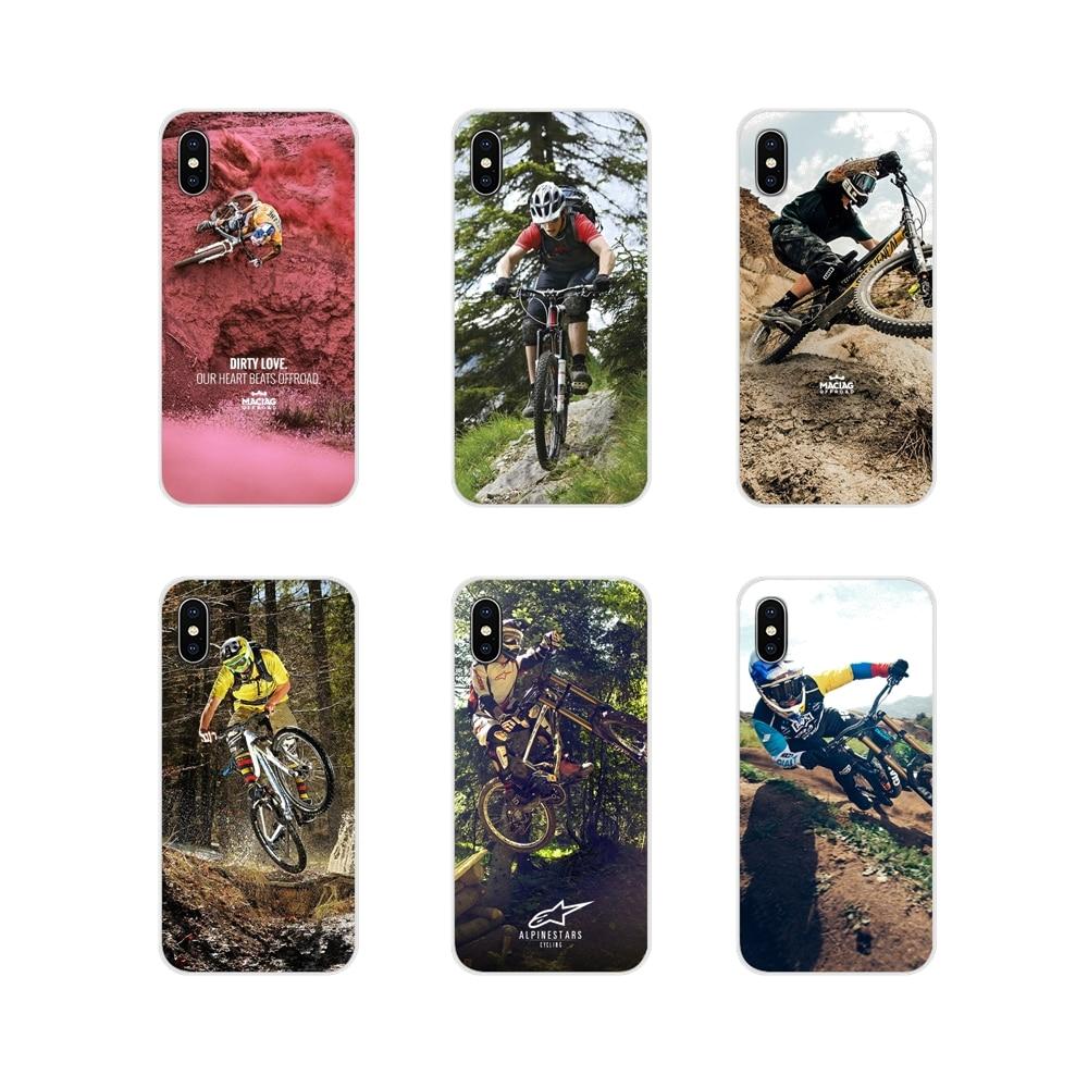 Para Samsung Galaxy A3 A5 A7 J1 J2 J3 J5 J7 2015 2016 2017 mountain Bike MTB Bicicleta Ciclismo Acessórios escudo do telefone Covers