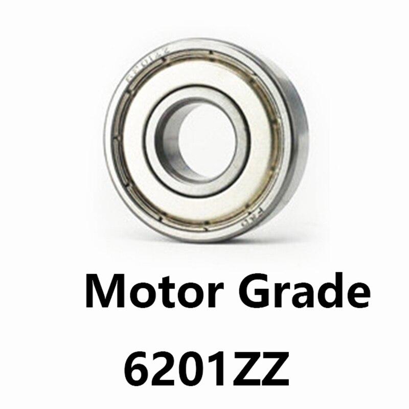 2 pçs/lote 6201ZZ Deep Groove Ball Bearing Motor Grau 6201-ZZ 6201ZZ 12*32*10mm 12*32*10