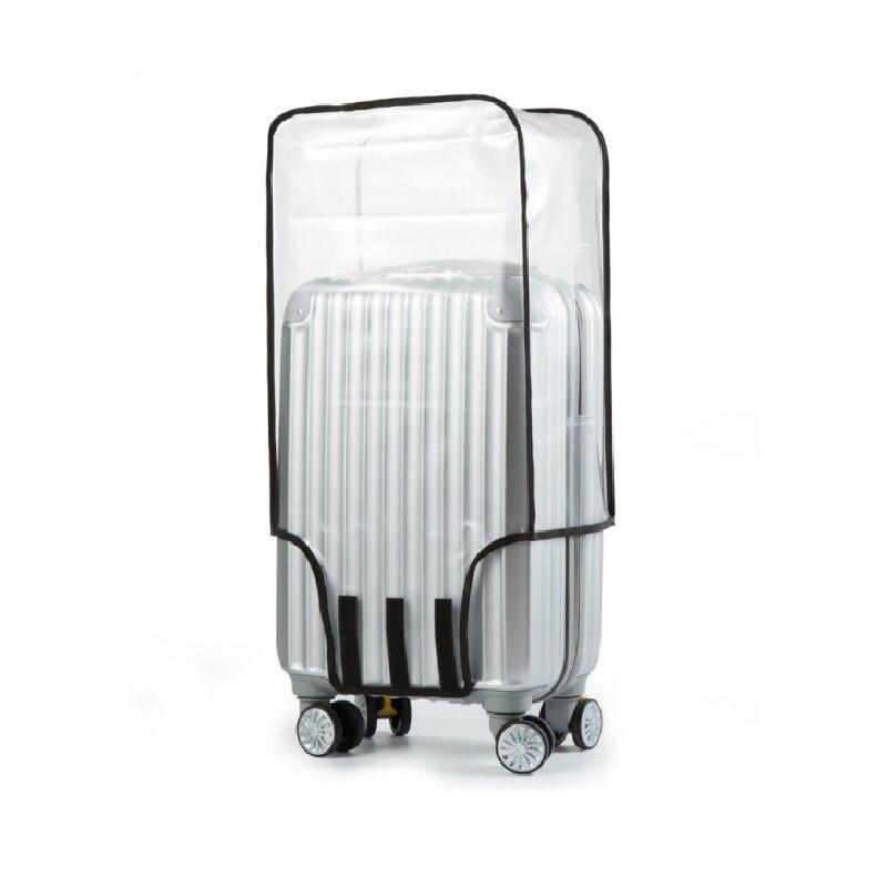 Cubierta de equipaje de PVC transparente gruesa para mujeres y hombres, accesorios de viaje, cubierta de maleta, Fundas protectoras de equipaje para organizar