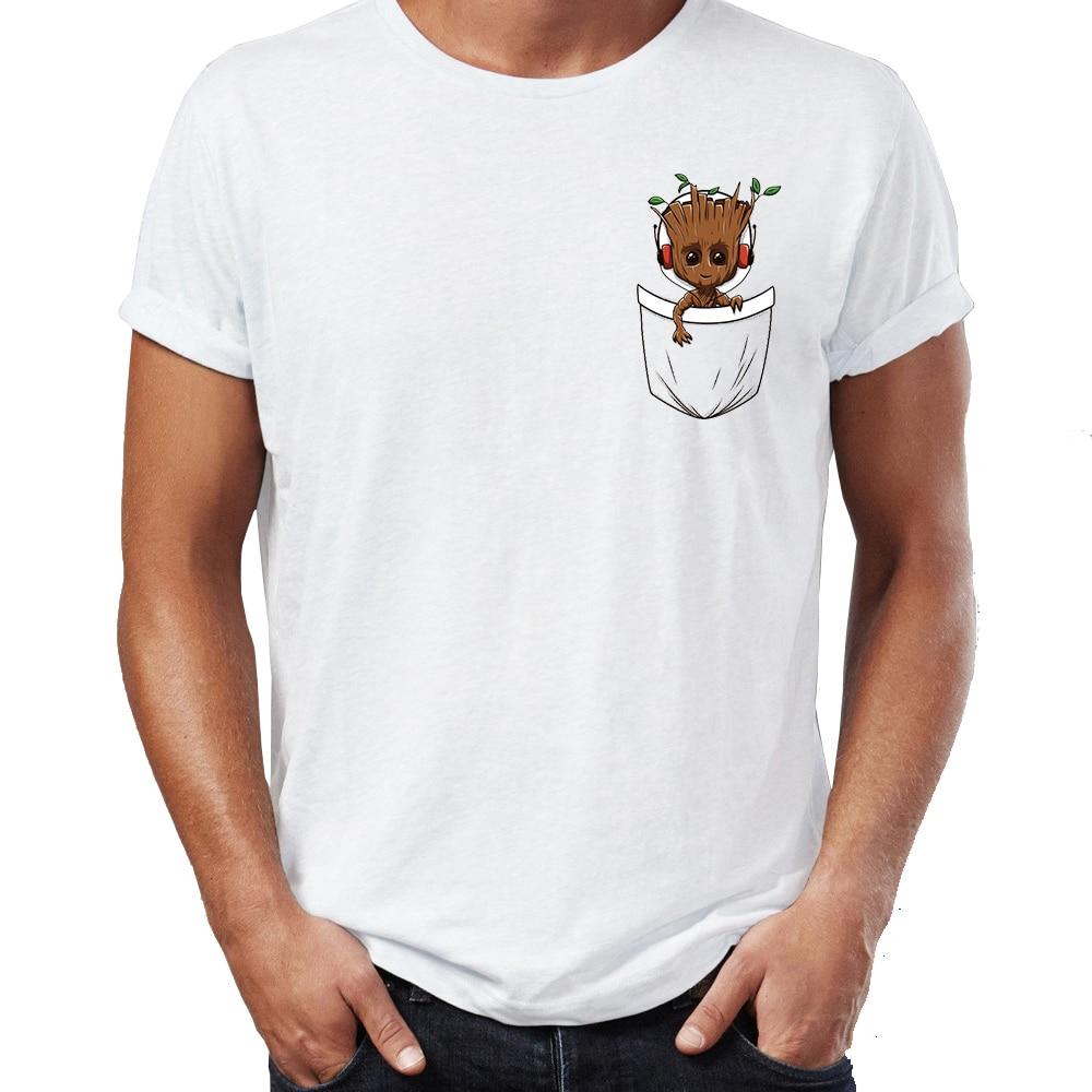 Повседневная мужская футболка, детские футболки с карманом, топы, забавные стражи Галактики, Badass, Отличная футболка, футболки, уличная одежда в стиле Харадзюку