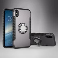 phone case for iphone 6 silicon soft fundas capa magnetic ring back cover for iphone 6s 6 plus 7 8 6s xr 5s 5 case funda coque