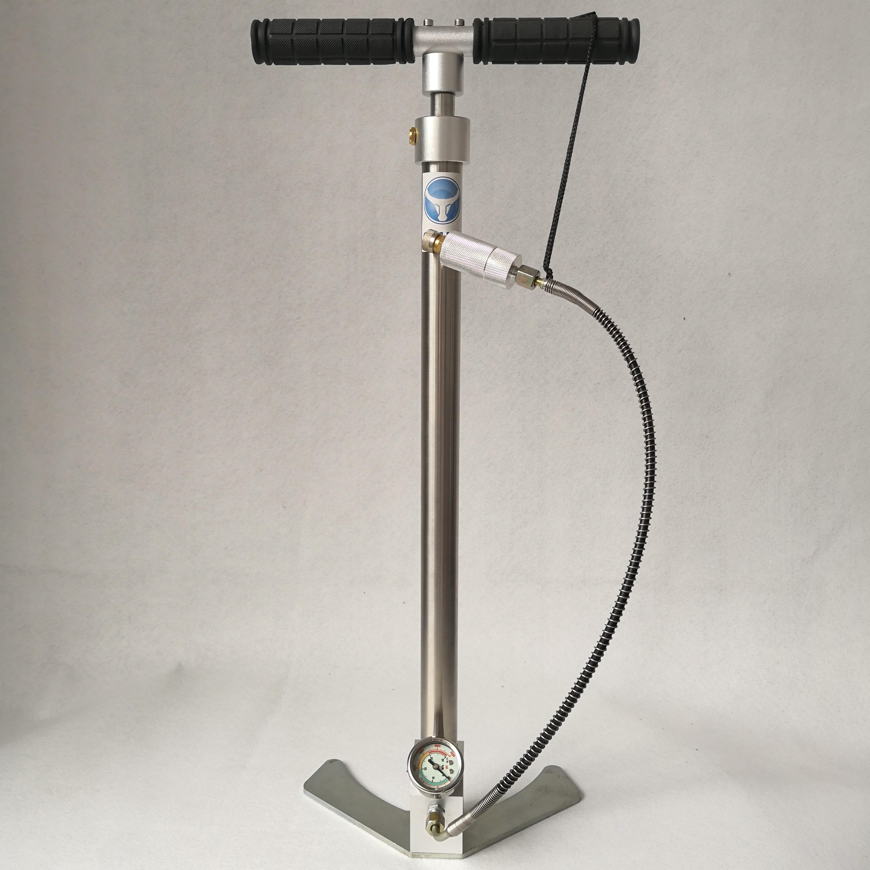 High pressure BULL pcp hand pump 4500psi 300bar with air filter