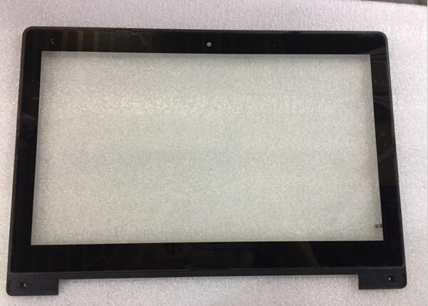 Portátil táctil para Asus S300 S300CA S300C Digitalizador de pantalla táctil vidrio de sustitución con sensor de reparación