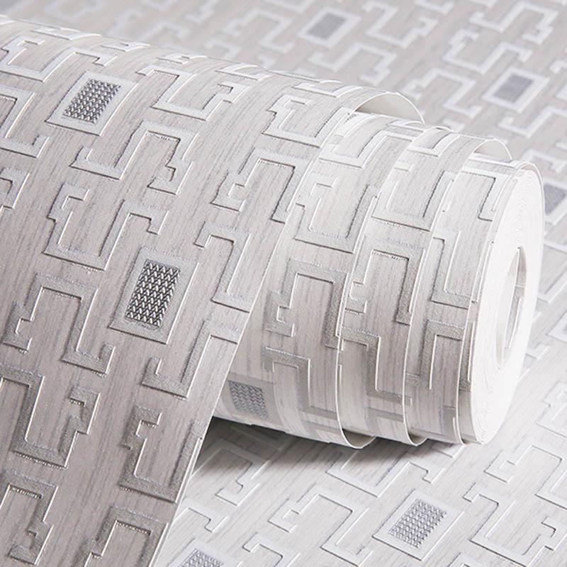 الحديثة النمط الصيني شعرية خلفية ثلاثية الأبعاد تنقش غير المنسوجة غرفة المعيشة غرفة الدراسة صديقة للبيئة ورق الحائط لفة انخفاض الشحن