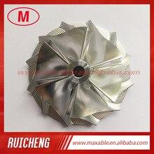 TD05H 20G 53.11/70.98mm 6+6 blades turbocharger billet/milling/aluminum 2618 compressor wheel