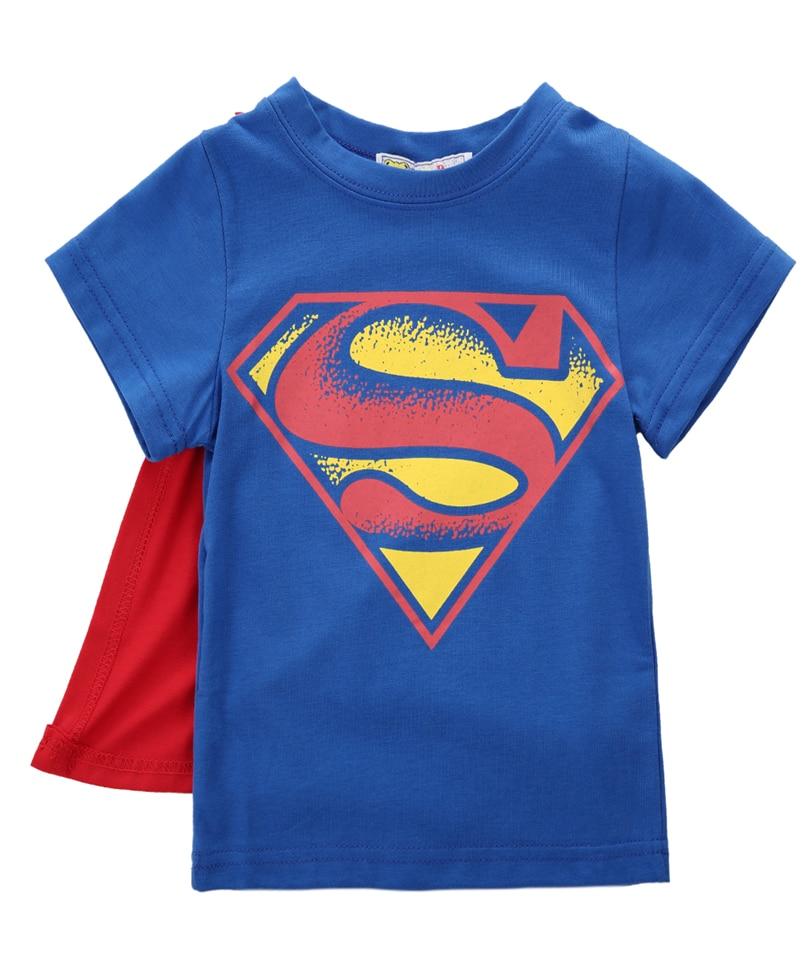 Nova/футболка для маленьких мальчиков, футболка с суперменом и Бэтменом, Детская футболка с короткими рукавами с 3D рисунком, одежда для мальчиков, 2019