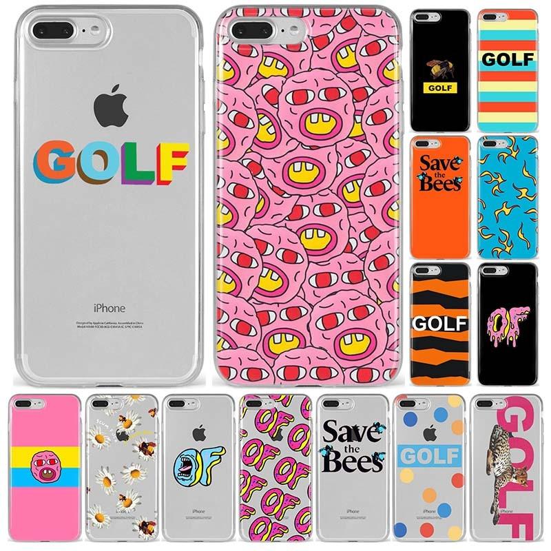 Golf Wang creador de Tyler futuro extraño Santa Cruz, Santa Cruz de silicona suave funda de teléfono TPU para iPhone 5S 6 6s7 8 Plus X XS X XR XS 11 MAX Anime
