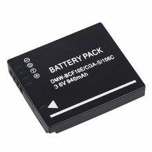 Batería para cámara Panasonic Lumix CGA-S/106C CGA-S/106D CGA-S/106B DE-A59B DE-A60B DMW-BCF10E DMW BCF10E DMWBCF10E DMC-F2