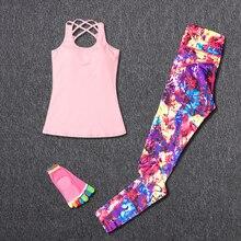 Комплекты для йоги, женский спортивный костюм, спортивная одежда для фитнеса, леггинсы для бега, футболка + носки для йоги + спортивные штаны, спортивная одежда для похудения 2018