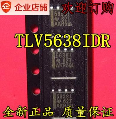 Envío gratuito TLV5638 TLV5638IDR TLV5638CDR 5638I 5638C