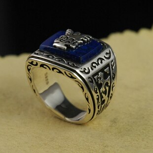925 silver Ring jeremy john the resurrection of ring