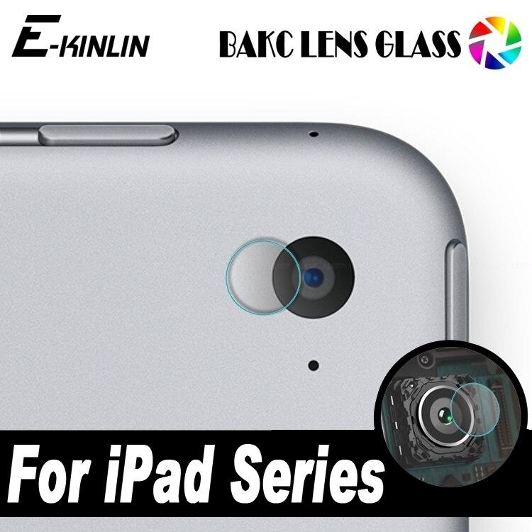 Lente Da Câmera traseira de Vidro Temperado Para O iPad 2017 Air Pro Mini 1 2 3 4 5 6 7.9 9.7 12.9 filme Protetor Protetor de Tela de 10.5 polegadas