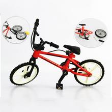 Mini Finger Bmx Toys Mountain Bike BMX Fixie Bicycle Finger Scooter Toy Creative Game Suit Children Grownup Random Color