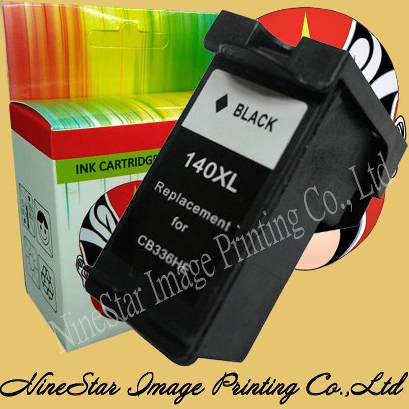Para HP D5363 D4263 D4363 cartucho de impresora deskjet tinta Rusia 140 140XL cartucho de tinta E169 para HP 140 140XL tinta