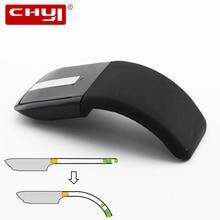 Chyi 2.4 ГГц складной Беспроводной Мышь складной Arc Touch Мышь Mause компьютерных игр Мышь Мыши компьютерные для Microsoft поверхности портативных ПК