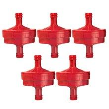 Rot Kraftstoff Filter Reiniger PT4265 AM107314 5 stücke Set 394358 394358S 298090 5018 751-3013 951-3013