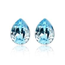 Ms Betti poire forme fantaisie pierre cristal de Swarovski boucles doreilles pour femmes best-seller cadeaux pour filles 2018 cadeaux de remise des diplômes