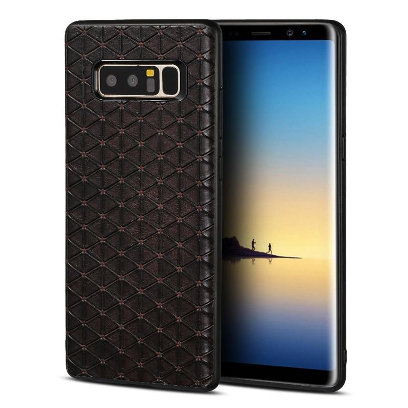 Funda de teléfono de negocios de lujo para Samsung Galaxy s10 plus s10 lite S7 edge S8 S9 a prueba de golpes para Samsung note 10 plus