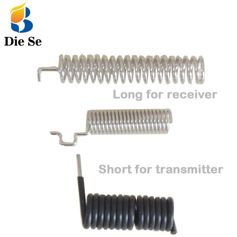 433MHz 315Mhz antena inalámbrica receptor de relé RF módulo transmisor 2 uds 433MHZ antena Control remoto interruptor DIY