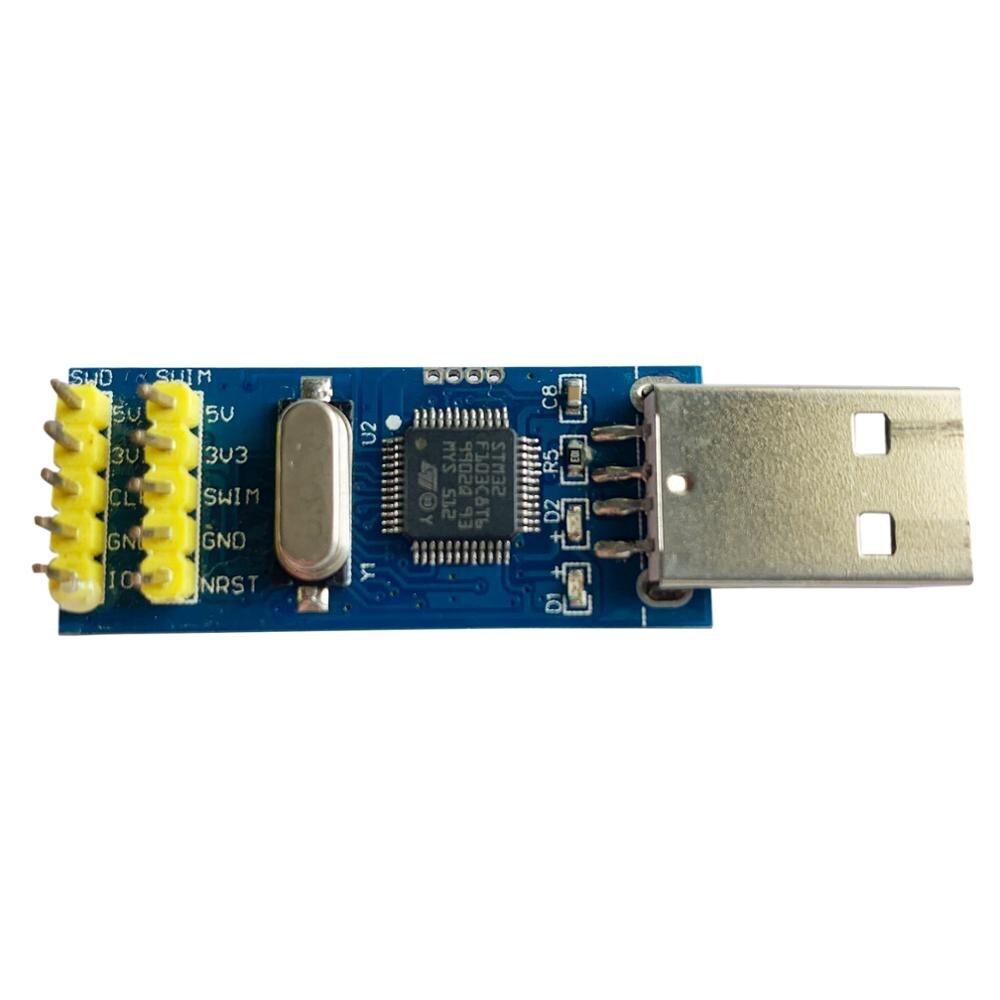 Mini ST-LINK/V2 STM8 STM32 MCU Emulator Downloader USB Ferramenta Para KC868 Controlador de Automação Residencial Inteligente de atualização de Firmware