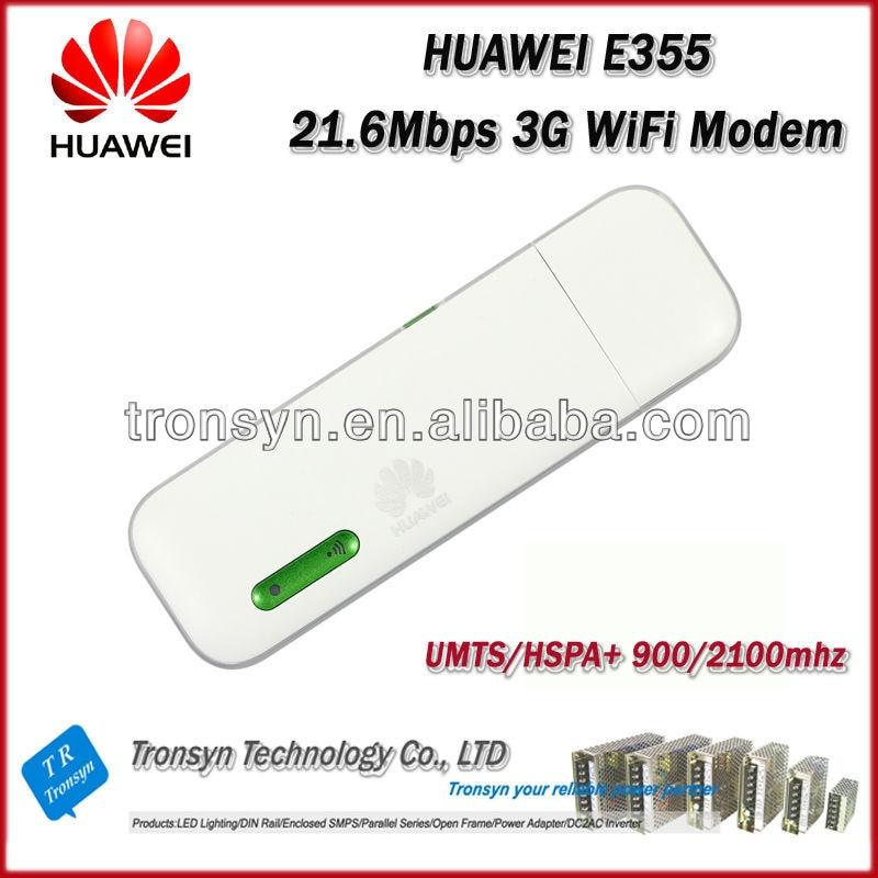 nova marca original unlock hspa 216 mbps de huawei e355 3 g wifi modem router e wifi