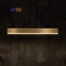 LED en alliage nordique acrylique Chrome doré lampe à LED lumière LED. suspension. suspension. suspension pour Foyer salle à manger