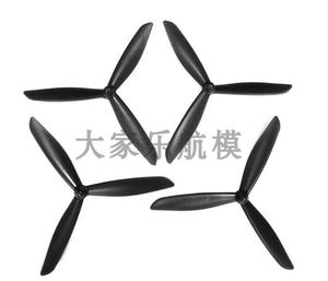 Upgraded Triangle high speed paddle 2 Pairs for Hubsan H501S X4 Blades Quadcopter RC Drone