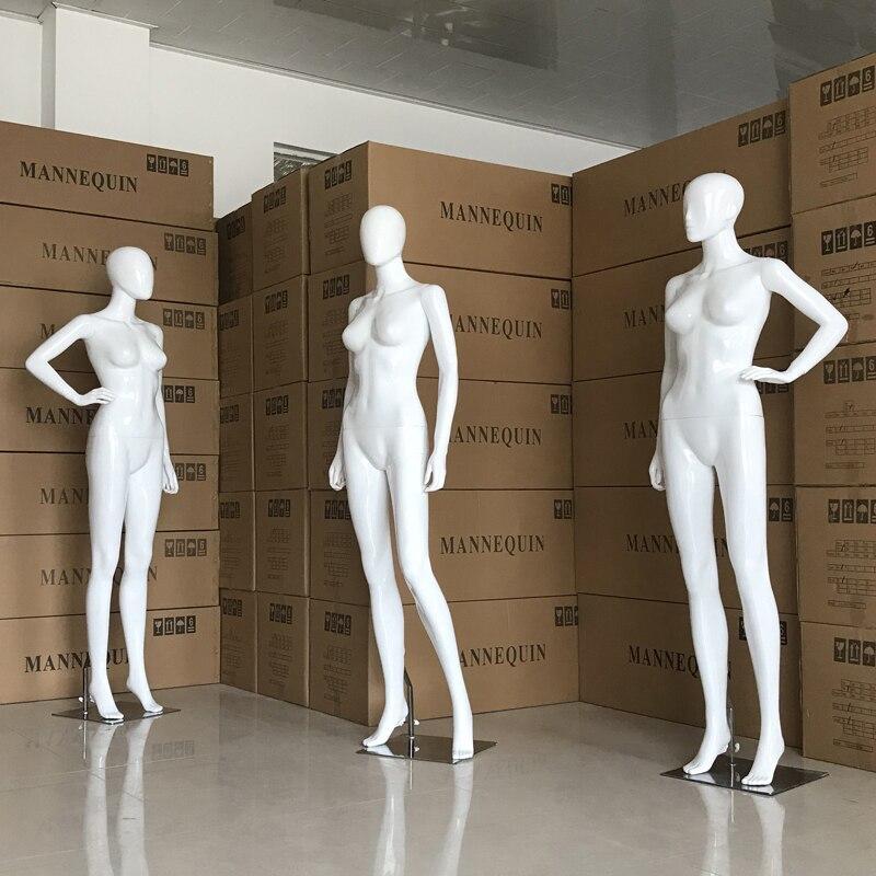 Beste Qualität Volle Körper Mannequin Weiß Farbe Weibliche Modell Direkter Verkauf Der Fabrik