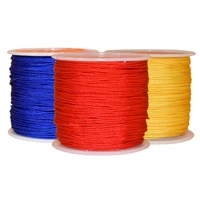 2020 explosion models 72 taiwan line 0 8mm hand woven rope jade line red line chinese knot tassel line 45 meters