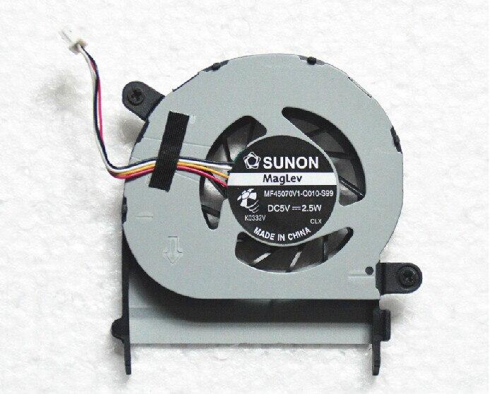 SSEA-ventilador de refrigeración para ordenador portátil Acer Aspire 1410, 1410t, 1810t, 1810TZ,...