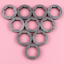 10pcs/lot Chain Sprocket Rim For Stihl Husqvarna Homelite Echo Chainsaw Spare Part 3/8 Pitch 7 Teeth Standard Spline ID 22mm