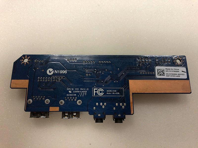 Original para Dell Alienware X51 X51 R2 USB de Audio de 7MG94 07MG94 cn-07MG94