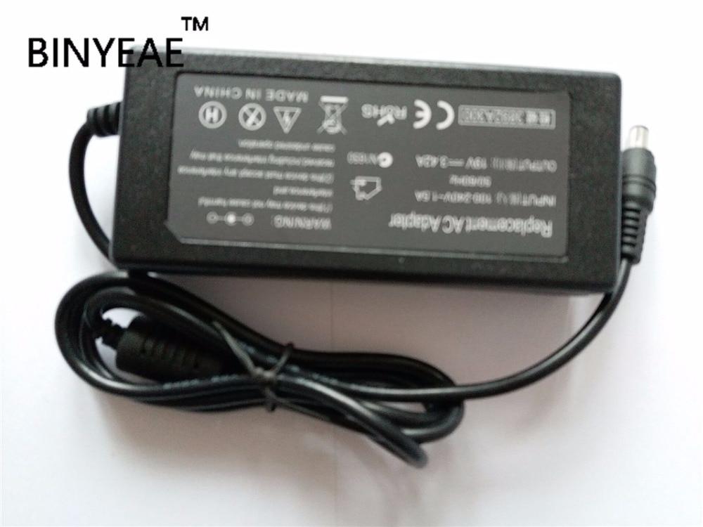 19V 3.42A 65W AC adaptador cargador de batería para ASUS EeeBox PC EB1007 EB1012