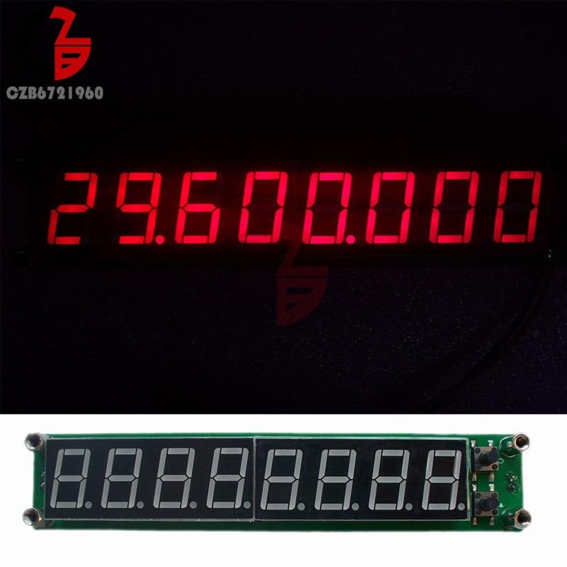 0.1-60MHz 20MHz-2.4GHz RF testeur de compteur de fréquence unique rouge 8 mètre LED Module de mesure pour amplificateur Radio jambon