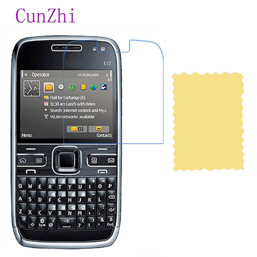 3 pcs Alta Definição Ultra Fino Filme Protetor de Tela LCD Película Protetora Para Nokia E72 Especial