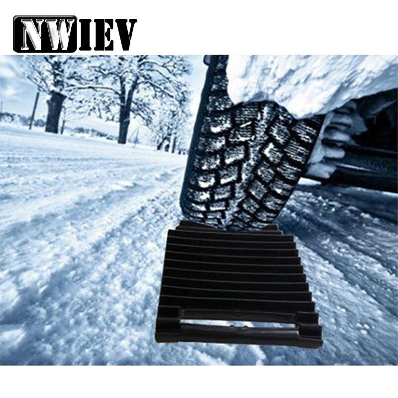 NWIEV 1 Uds de nieve de plástico de las cadenas Anti-almohadilla deslizante para BMW X5 E53 F30 F10 E46 E39 E90 E60 F20 Mercedes W205 W204 W211 Audi A5 A6 C5