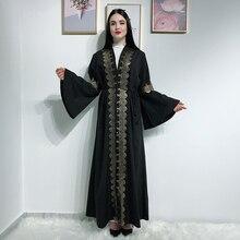 Rebeca Kimono Abaya abierta vestido Hijab musulmán islámico Jilbab mujer muselman caftán turco ropa islámica bata Dubai